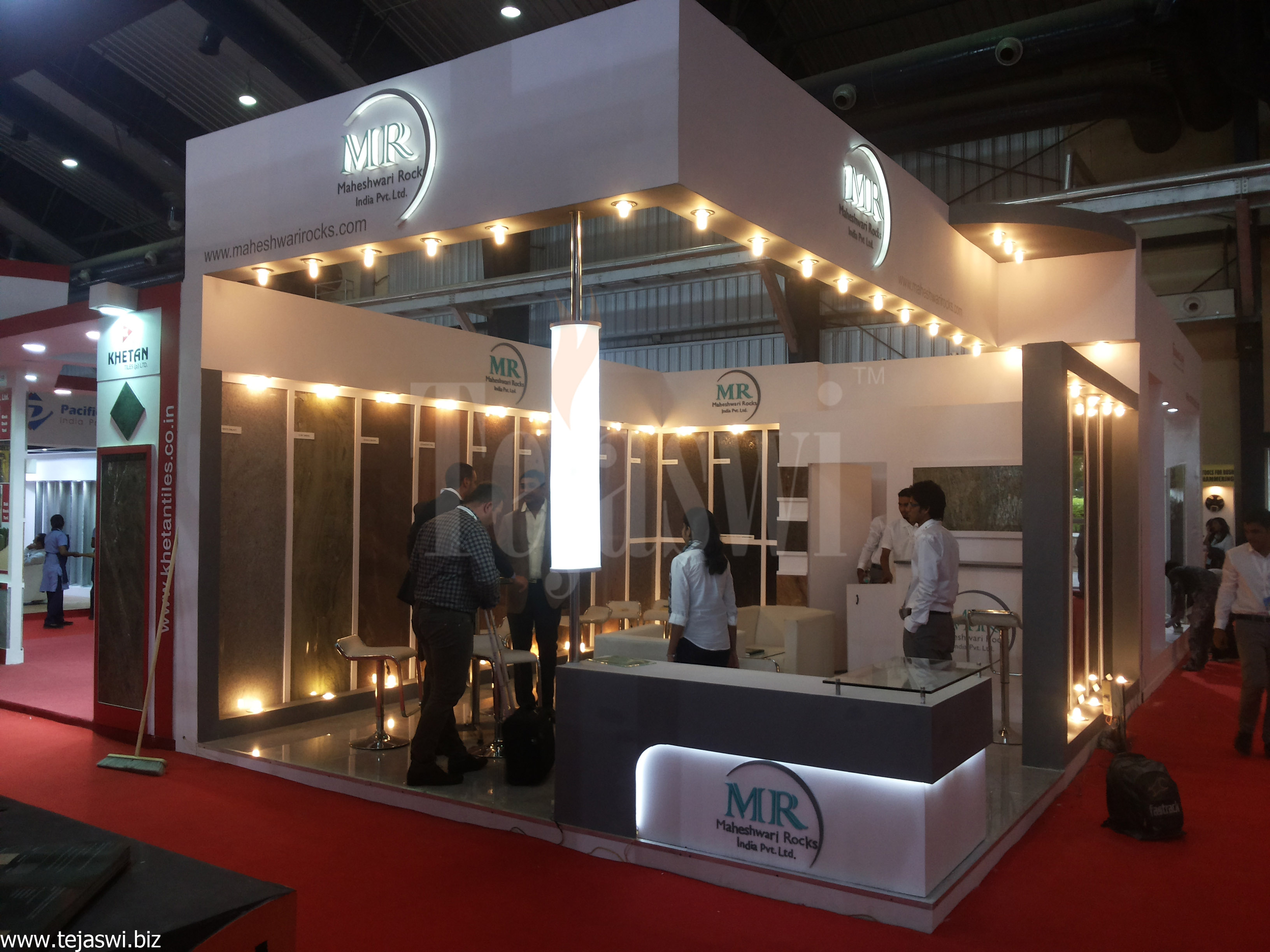 Creative Expo Stands : Tejaswi services pvt ltd exhibition stall designer