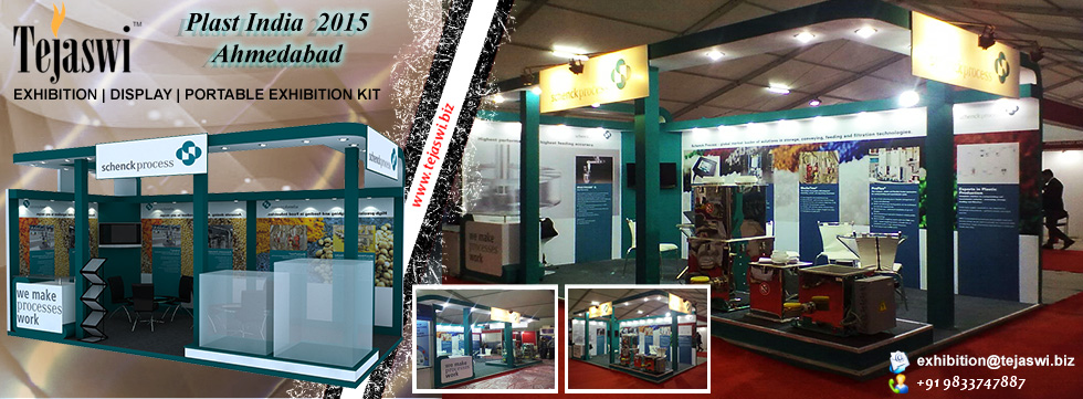 Tejaswi services pvt ltd exhibition stall designer for International decor services