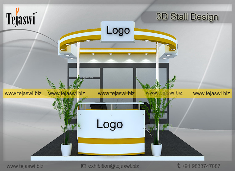 Exhibition Stall Dimensions : Meter exhibition booth design and construction