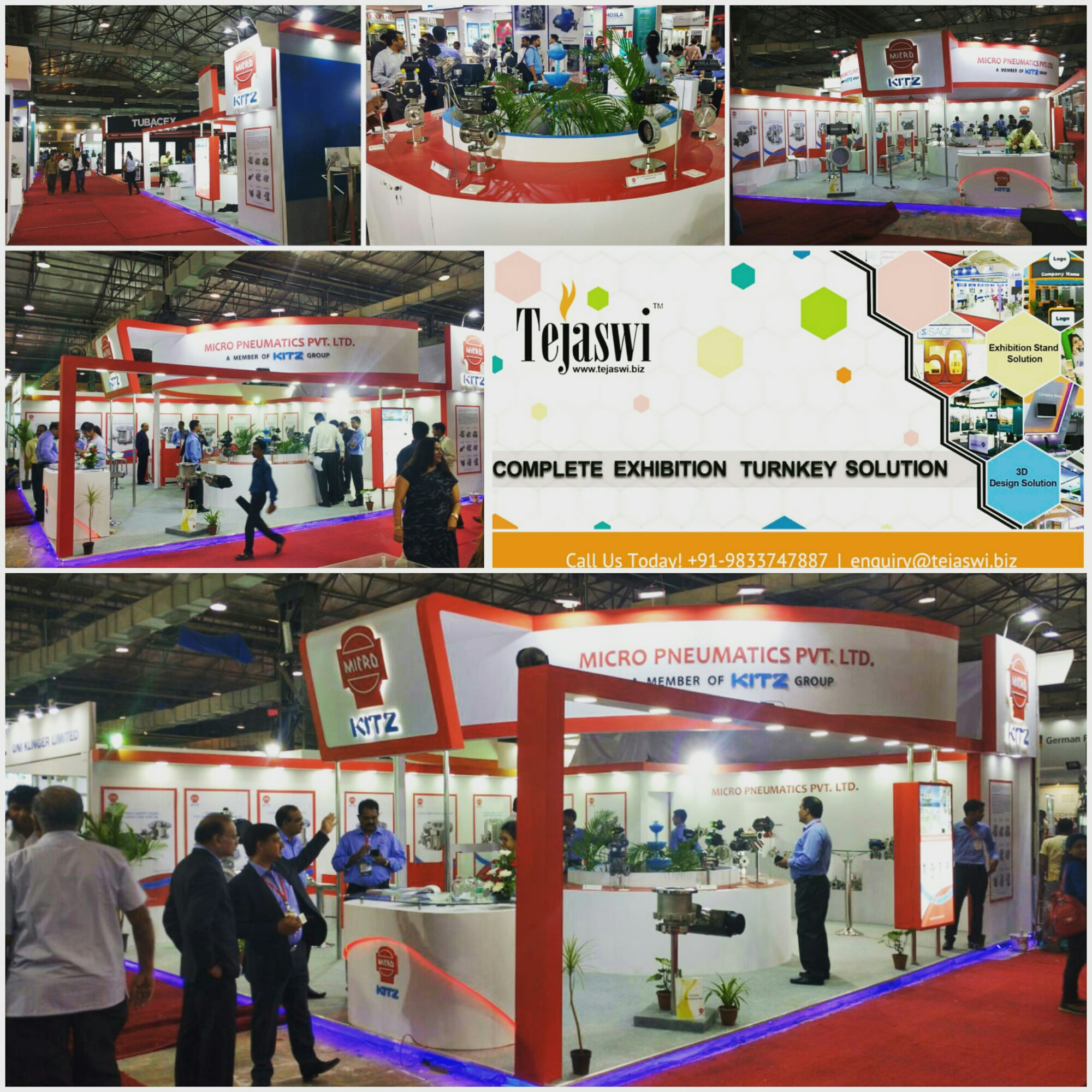 Trade show booth builder Mumbai
