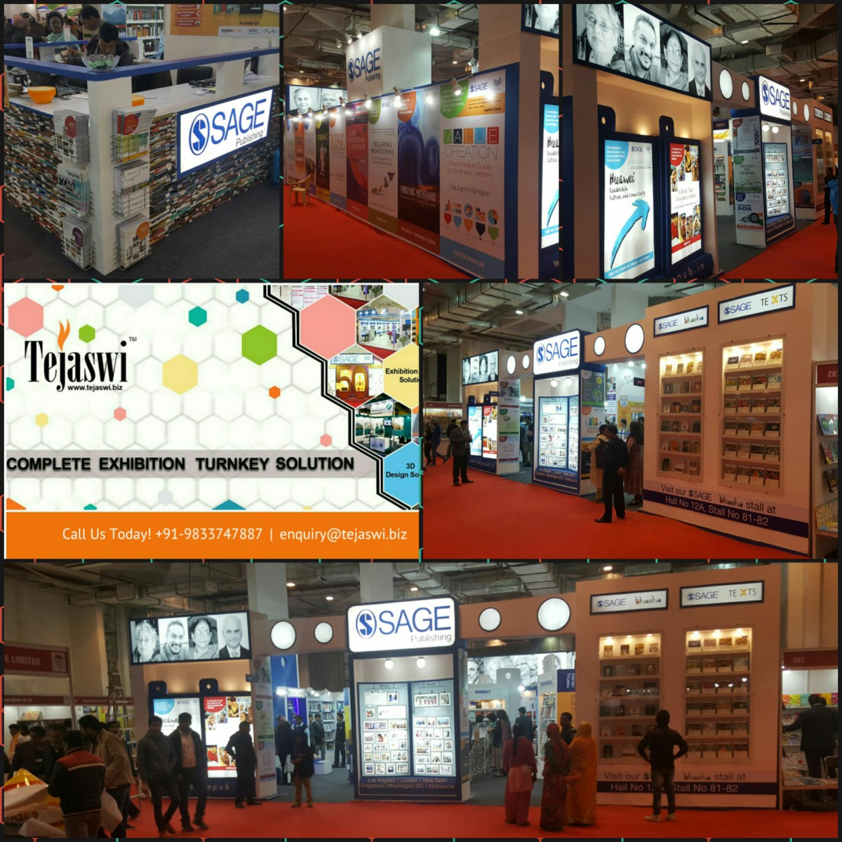 Trade show booth builder