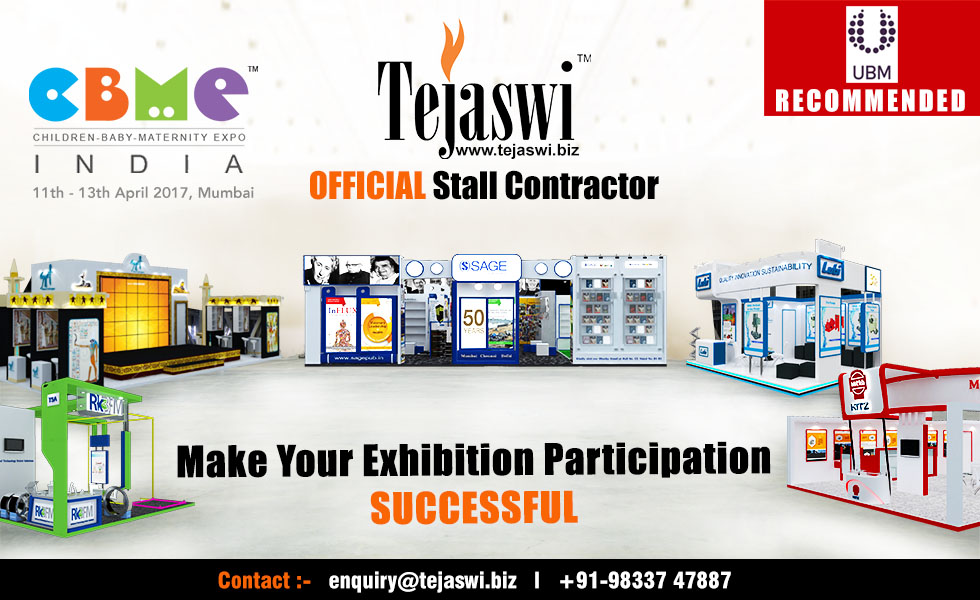 CBME India Official Exhibition Stall Fabricator