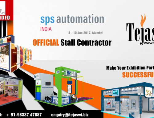 SPS Automation Official Exhibition Booth Fabricator Mumbai