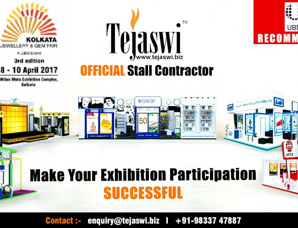 Kolkata Jewellery & Gem Fair Official Exhibition Stall Designer